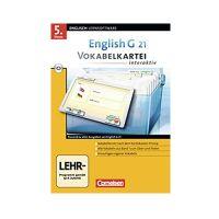 English G 21 - Vokabelkarteien interaktiv, Band 6