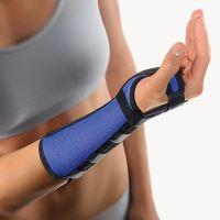 Arm- und Handgelenkstütze mit Alu-Schiene