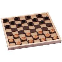 Klassisches Brettspiel Dame für Blinde
