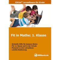 Lernsoftware Fit in Mathe – Lernprogramme & Lernspiele 1. - 4. Klasse