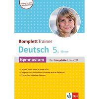 KomplettTrainer Deutsch 5. Klasse