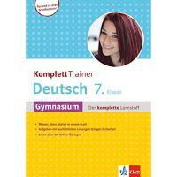 KomplettTrainer Gymnasium Deutsch 7. Klasse