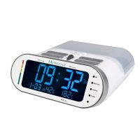 Oberarm-Blutdruckmessgerät & Radiowecker MTR