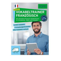 PONS Digital Vokabeltrainer Französisch