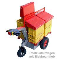 Postzustellwagen mit Elektroantrieb