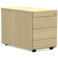 Rollcontainer für höhenverstellbaren Schreibtisch