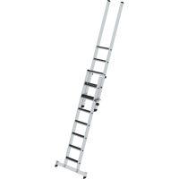 Stufen-Schiebeleiter 2-teilig mit nivello®-Traverse