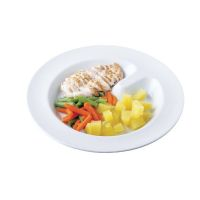 unisonoPLUS Porzellan-Teller mit Einteilung