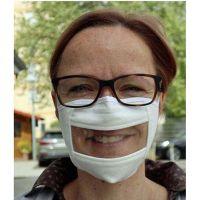 Hörbehinderten- Mund- und Nasenmaske