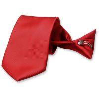 Rippenstruktur Sicherheitskrawatte Rot