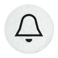 Abtastbares Symbol Klingel, Schlüssel, Licht