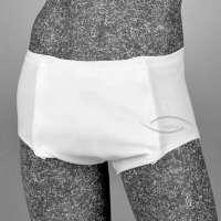 Herrenunterhose mit Klettverschluss, für Einlagen